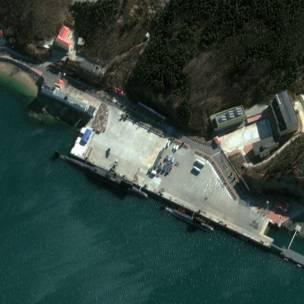 資料圖片:大連小平島海軍基地