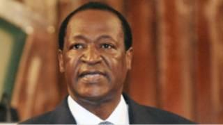 Le président du Faso, Blaise Compaoré