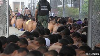 Cárceles en Venezuela. Foto de archivo