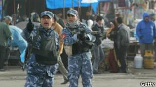 Policía en Irak