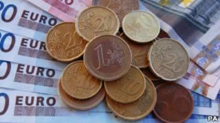 यूरो की बारिश