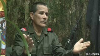 """Nicolás Rodríguez Bautista """"Gabino"""", máximo comandante del ELN."""