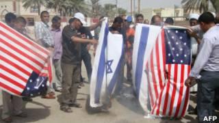 Protesta contra el film en Irak