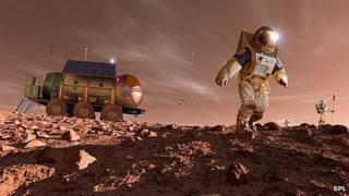 Así se verán los humanos en Marte