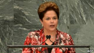 Dilma Rousseff en la Asamblea General de la ONU