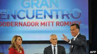 Mitt Romney en Univisión