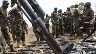 Fuerzas internacionales para Somalia
