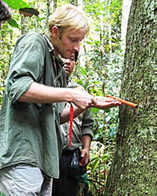 Roel Brienen en la Amazonía boliviana