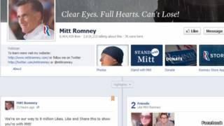 Perfil de Facebook de Mitt Romney