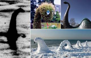Nessie, el monstruo del Lago Ness