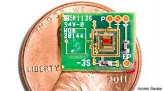 Implante del tamaño de una moneda