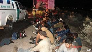Inmigrantes ilegales mexicanos