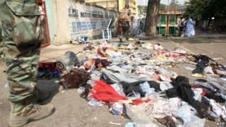 Lokasi insiden di Abidjan