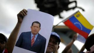 Simpatizantes Hugo Chávez