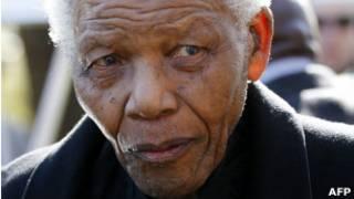 Nelson Mandela en una foto de 2010