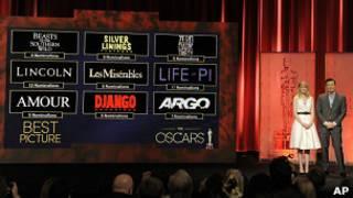 """Номинация на """"Оскаров"""" 2013 года"""