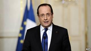 Presiden Francois Hollande