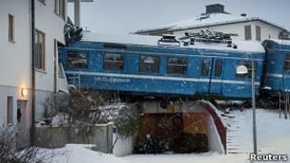 Kereta yang dicuri di Swedia