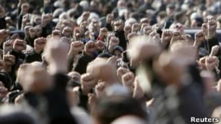 Manifestación en Georgia