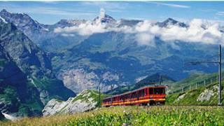 स्विट्जरलैंड ट्रेन