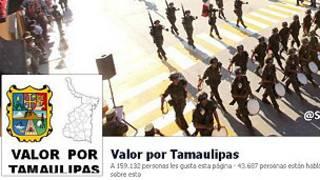 Valor por Tamaulipas, Facebook
