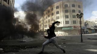 Enfrentamiento en Cisjordania