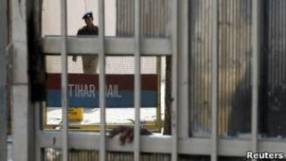 Prisión de máxima seguridad de Tihar en Nueva Dehli, India