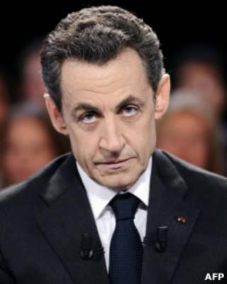 O ex-presidente francês Nicolas Sarkozy