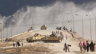 Civiles en Basra en 2003