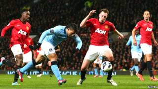 Man Utd 1-Man City 2