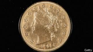 Moeda de 5 cents leiloada nos Estados Unidos (foto: Getty)