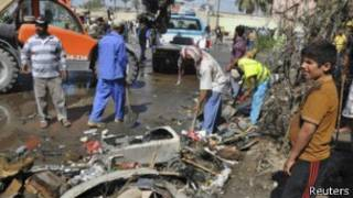 Explosión de bomba en Irak