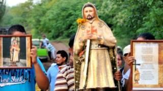 Imagen de San Nazario, fundador de Los Caballeros Templarios de Michoacán