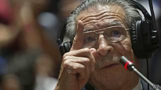 exgeneral guatemalteco Efraín Ríos Montt