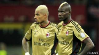 Boateng y Balotelli,