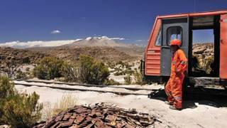 Ferrocarril entre Arica y La Paz