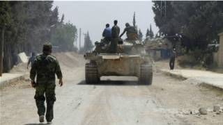 Chiến sự ở Qusair, Syria