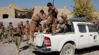 Policía en Helmand