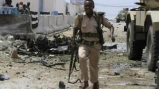 Hari a ofishin majalisar dinkin duniya a Mogadishu