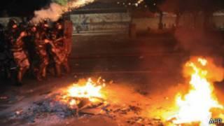 Protestos no Rio (AFP)
