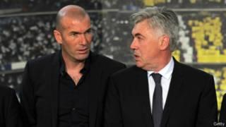 Zidane dan Ancelotti