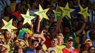 Torcida brasileira na Copa das Confederações