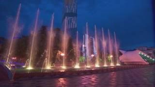 Fuente en Batumi
