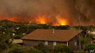 Incendio en Yarnell, Arizona