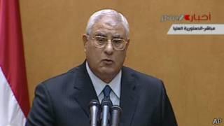 Adli Mansour, presidente interino de Egipto