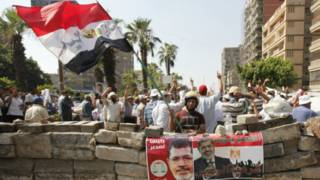 Nhóm ủng hộ ông Morsi