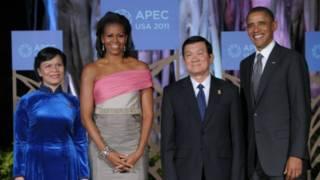 Chủ tịch VN Trương Tấn Sang, và Tổng thống Mỹ Obama