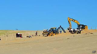 Rescate en la arena