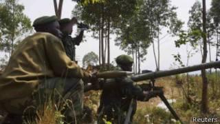 Abasirikare ba Kongo ku rugamba mu kwezi kw'indwi