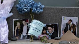 Flores para Cory Monteith